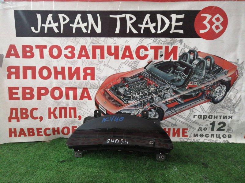 Панель приборов Toyota Camry ACV40 2AZ-FE