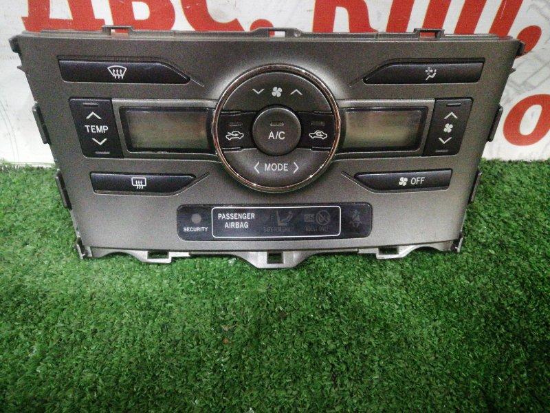 Блок управления климат-контролем Toyota Auris ADE150