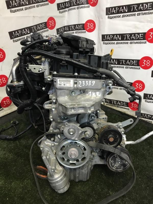 Двигатель Toyota Passo M700A 1KR-FE 2016