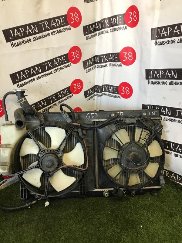 Радиатор охлаждения двигателя Honda Fit GD3 L15A