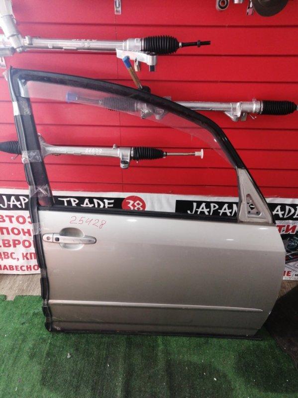 Дверь Toyota Spacio ZZE124 1NZ-FE передняя правая