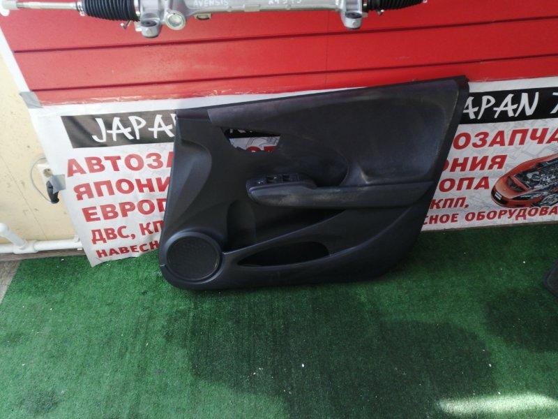 Обшивка дверей Honda Fit GE6 L13A передняя правая