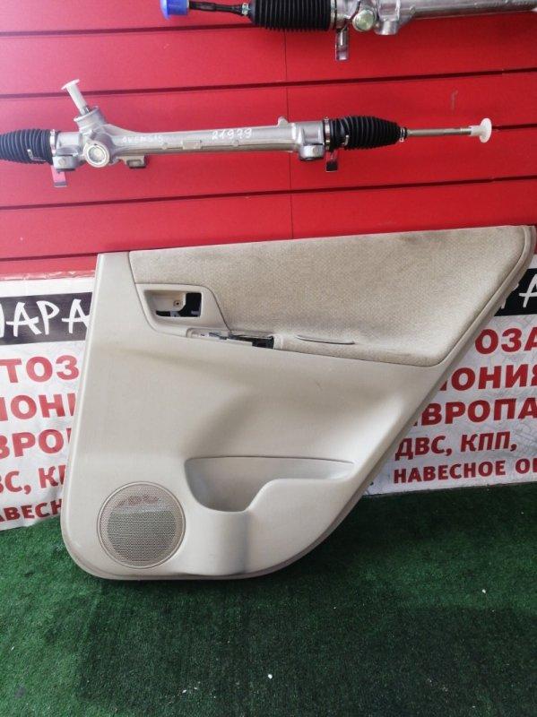 Обшивка дверей Toyota Corolla Spacio NZE121 1NZ-FE передняя правая