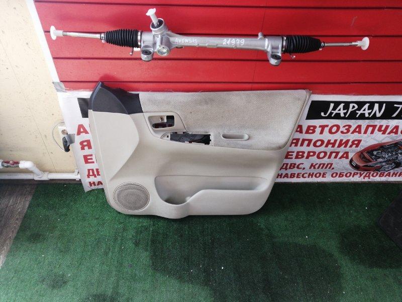 Обшивка дверей Toyota Corolla Spacio NZE121 1NZ-FE задняя правая
