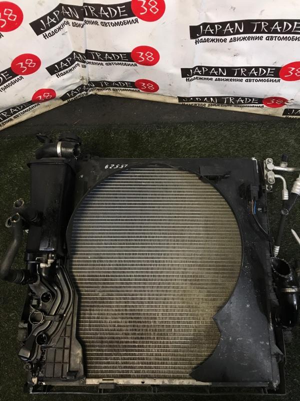 Радиатор охлаждения двигателя Bmw X5 E53 M54B30 2005