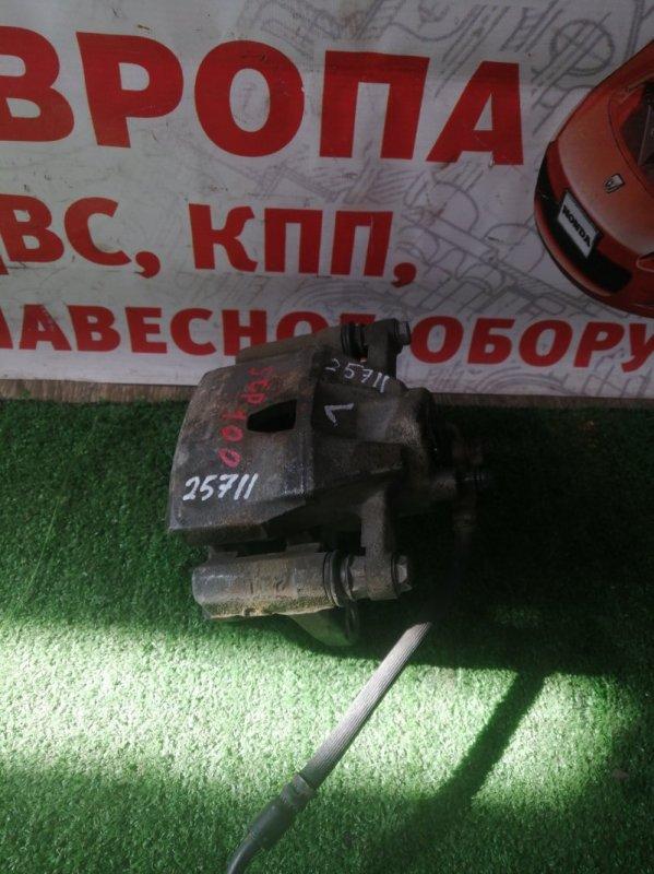 Суппорт Toyota Ractis SCP92 1KRFE передний левый