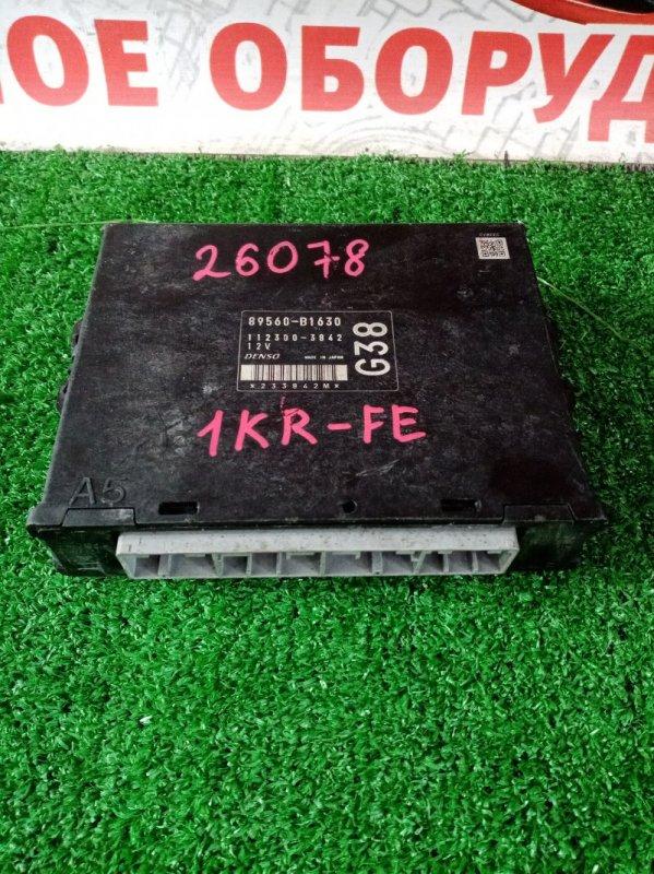 Блок efi Toyota Passo KGC10 1KRFE