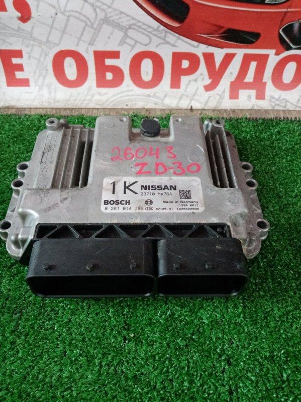 Блок efi Nissan Atlas SZ2F24 ZD30DDTI