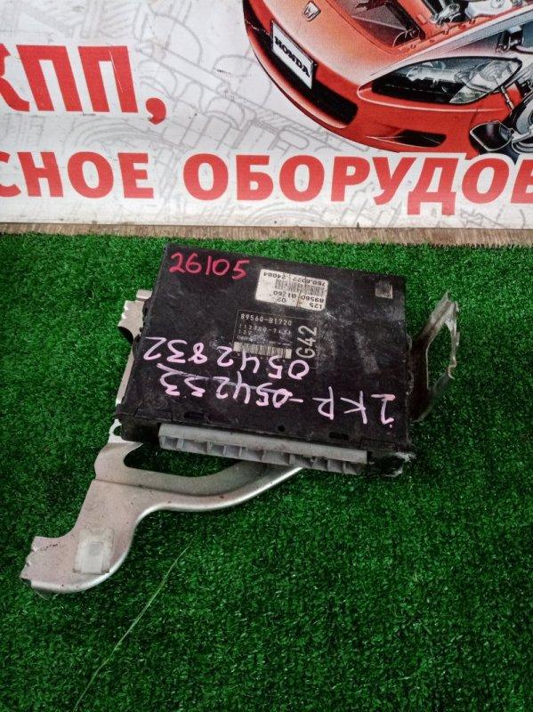 Блок efi Toyota Passo KGC10 1KR-FE