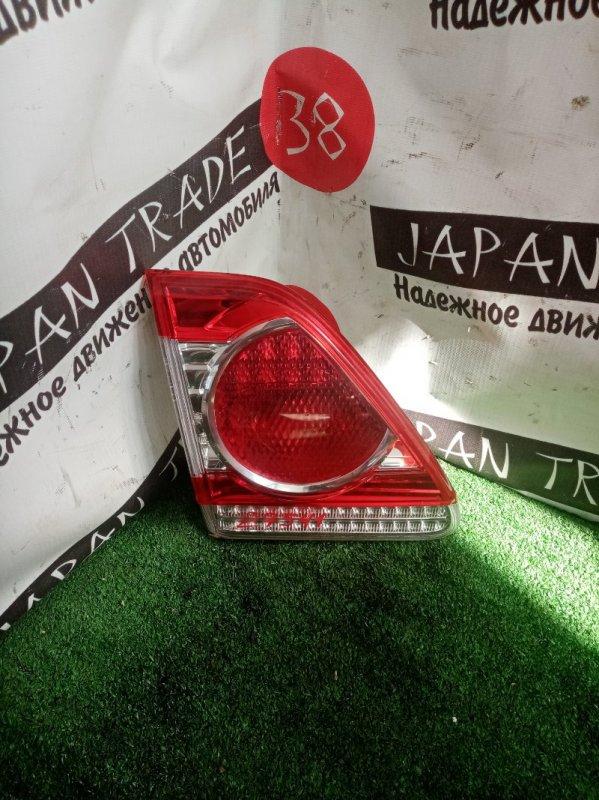 Вставка багажника Toyota Corolla ZRE151 1ZR-FE 2010 задняя левая