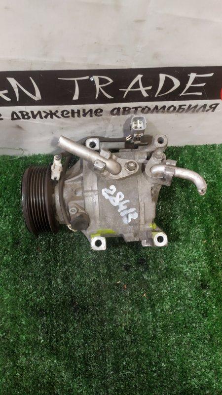 Компрессор кондиционера Toyota Corolla ZZE122 1ZZ-FE