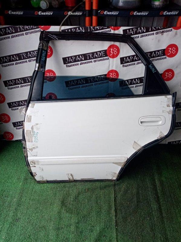 Дверь Toyota Sprinter AE110 задняя левая