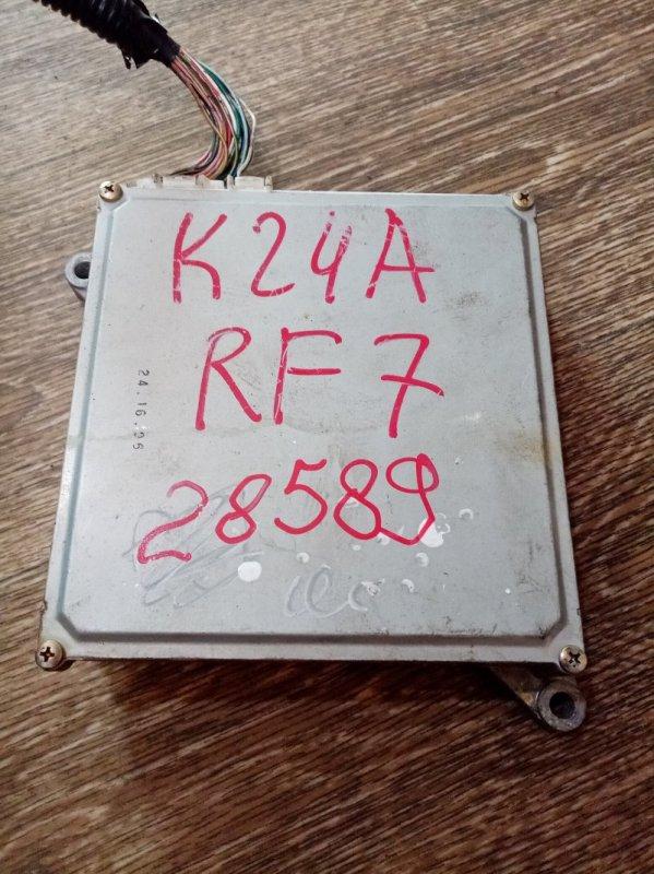 Блок efi Honda Cr-V RF7 K24A