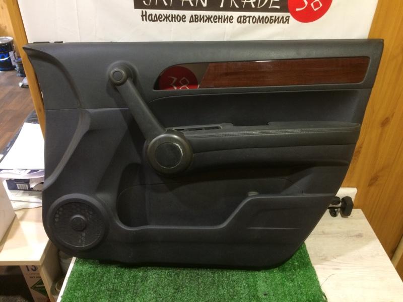 Обшивка двери Honda Cr-V RE3 K24A передняя правая