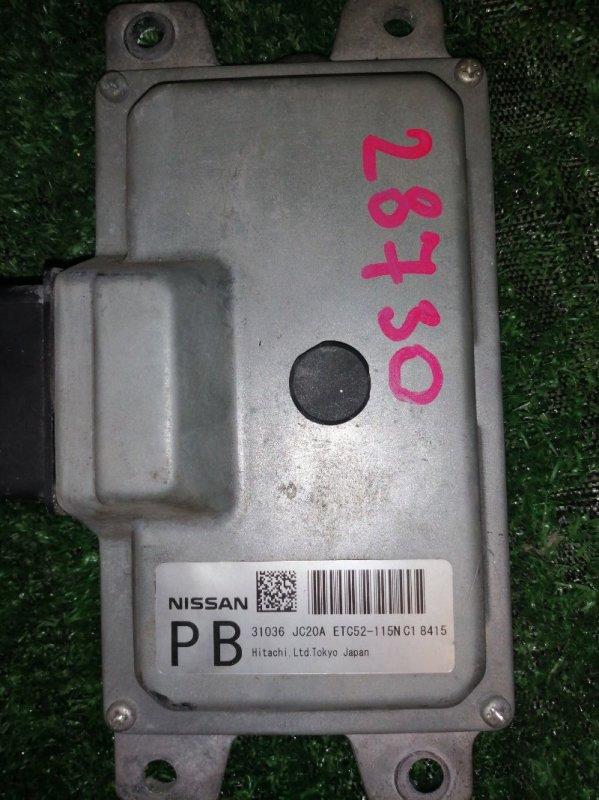 Блок управления акпп Nissan QR25