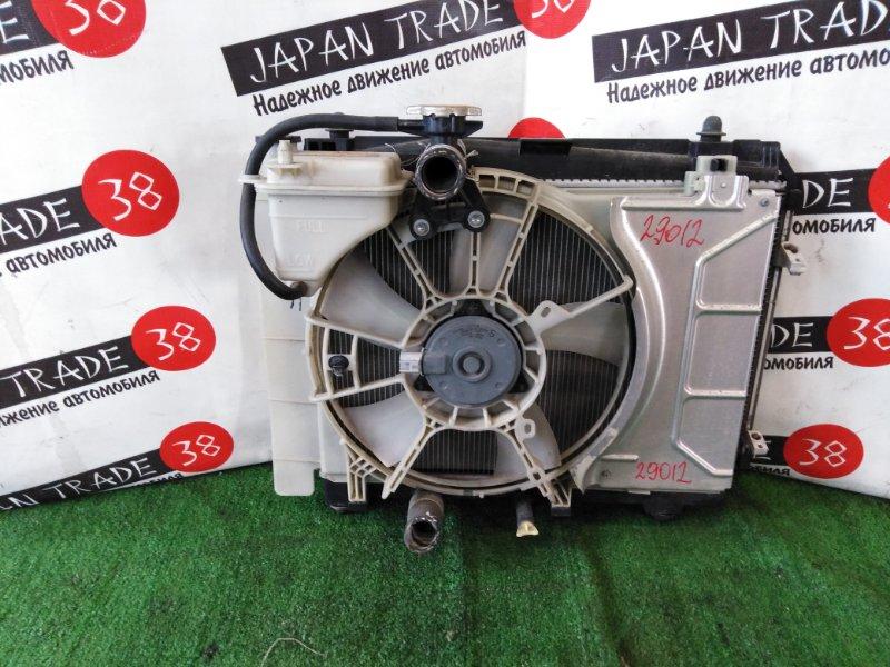 Радиатор охлаждения двигателя Toyota Vitz SCP90 1SZ-FE