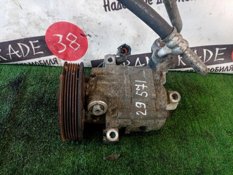 Компрессор кондиционера Nissan Wingroad WFY11 QG15DE