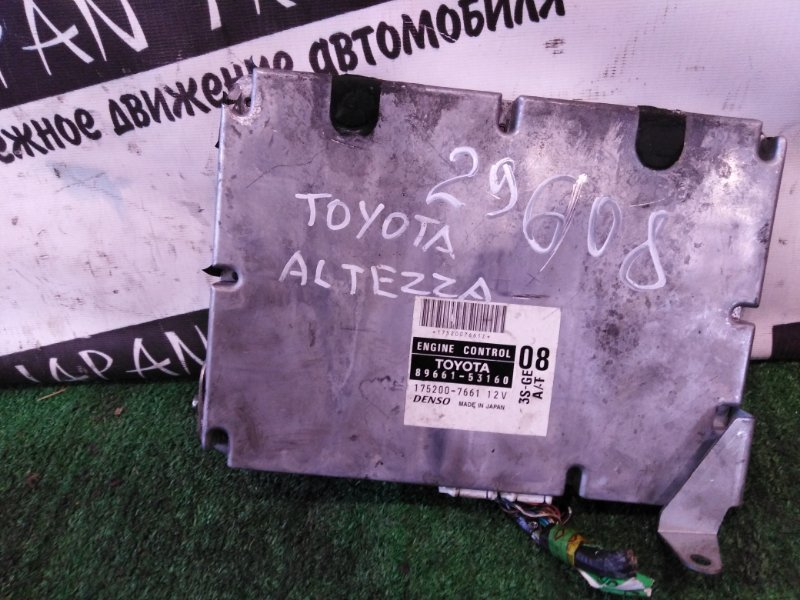 Блок efi Toyota Altezza SXE10 3S-GE