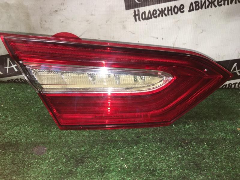 Вставка багажника Toyota Camry ASV70 2AR-FE задняя левая