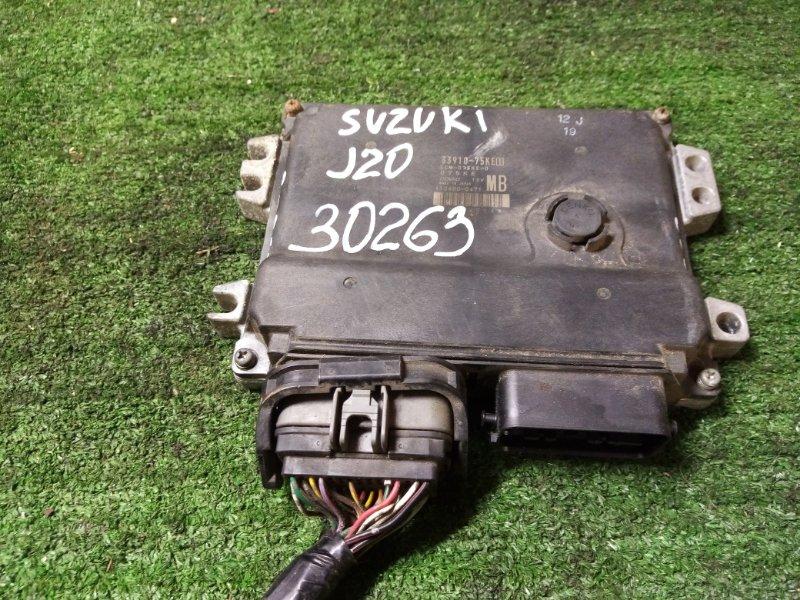 Блок efi Suzuki Sx4 YA41S J20A