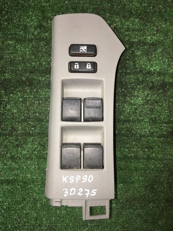 Блок управления стекло подьемниками Toyota Vitz KSP90 1KR-FE