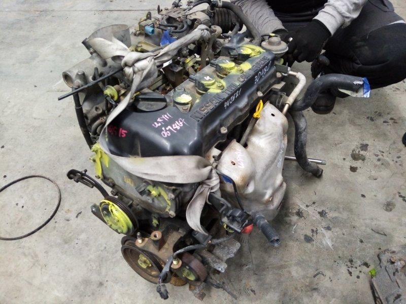Двигатель Nissan Wingroad QG15-DE