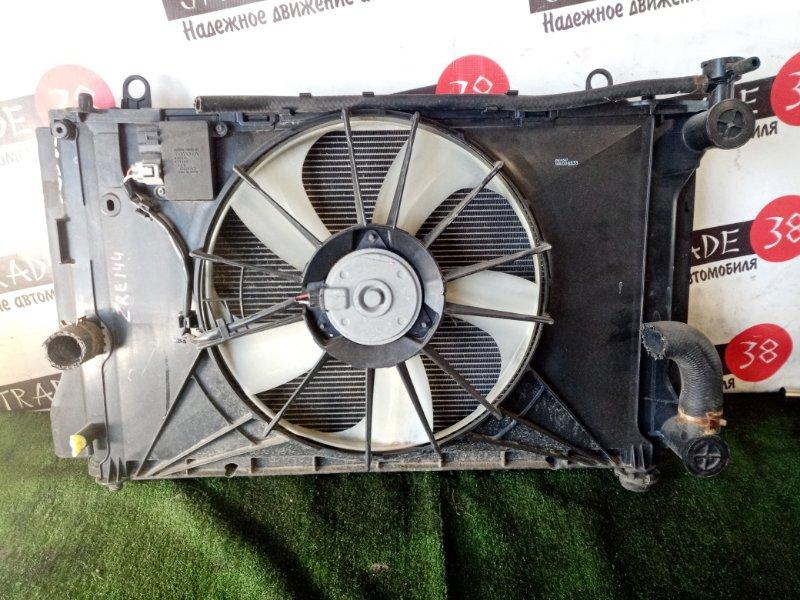 Радиатор охлаждения двигателя Toyota Corolla Fielder ZRE144 2ZR-FE