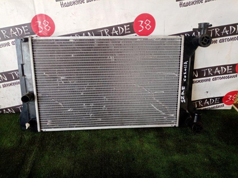 Радиатор охлаждения двигателя Toyota Corolla ZRE150 1ZR-FE