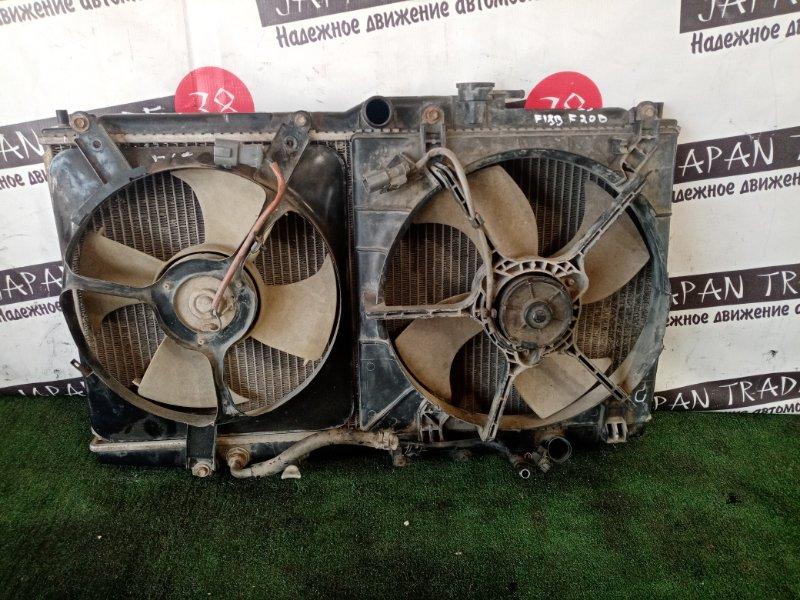 Радиатор охлаждения двигателя Honda Accord CF-4 F20B SIR