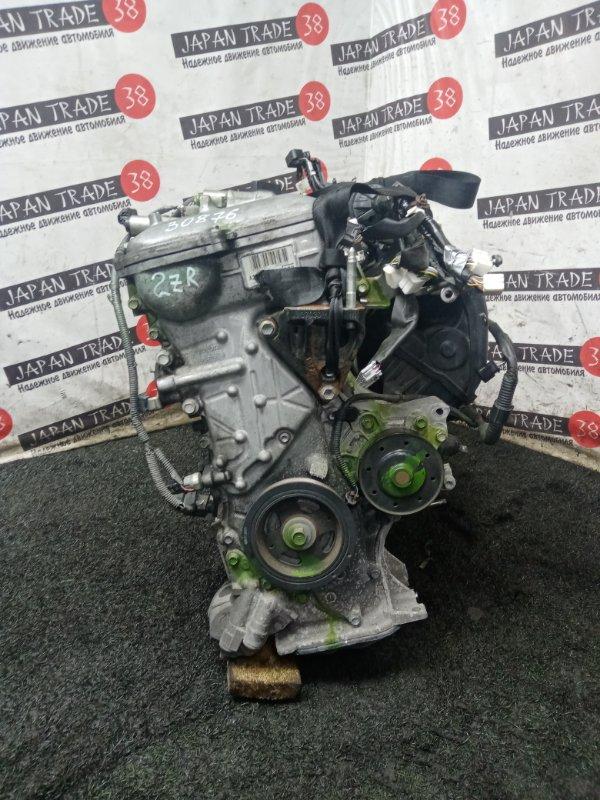 Двигатель Toyota Isis ZGM10 2ZR-FAE 2012