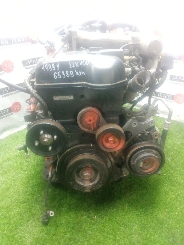 Двигатель Toyota Cresta JZX100 1JZ-GE 1999