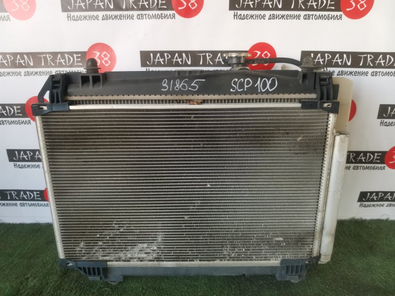 Радиатор охлаждения двигателя Toyota Ractis NCP100 2SZ-FE