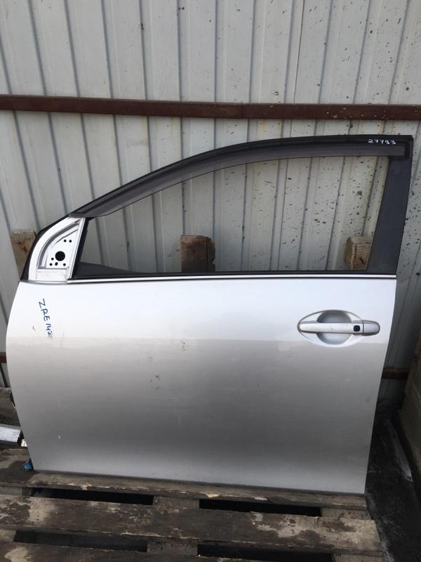 Дверь Toyota Corolla Fielder NZE141 1NZ-FE передняя левая