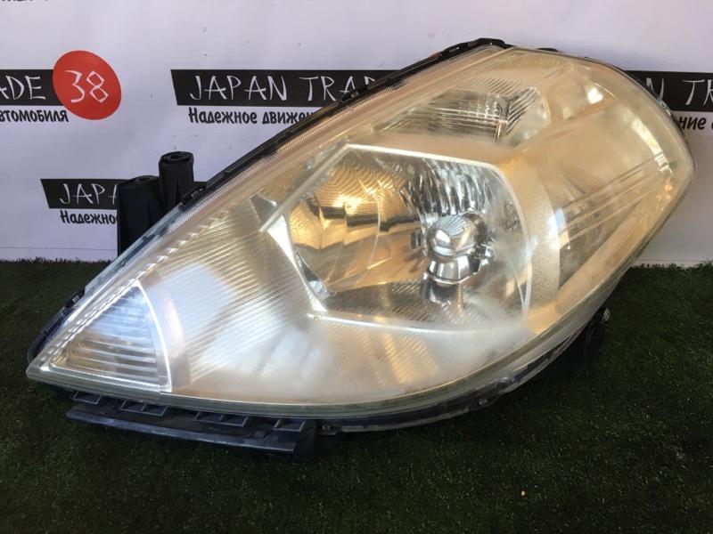 Фара Nissan Tiida C11 HR15 передняя левая
