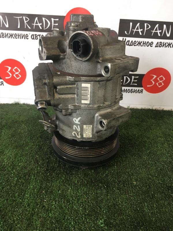 Компрессор кондиционера Toyota Auris ZGM10G 2ZR-FE