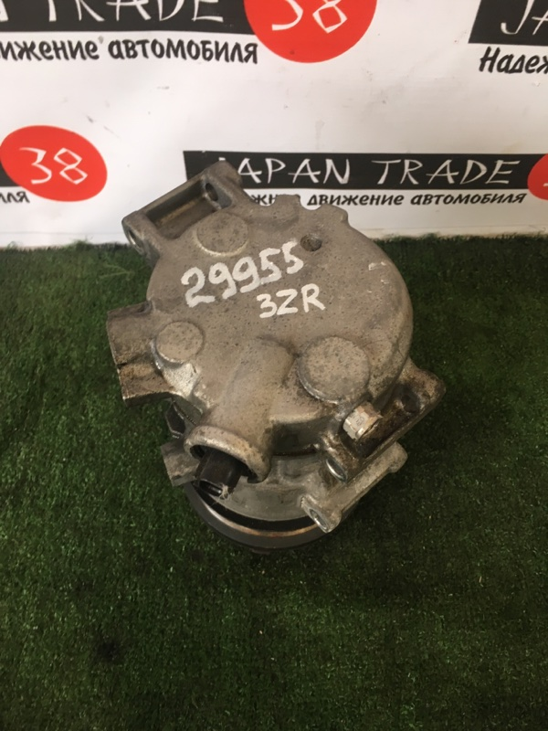 Компрессор кондиционера Toyota Voxy ZRR70 3ZR-FE