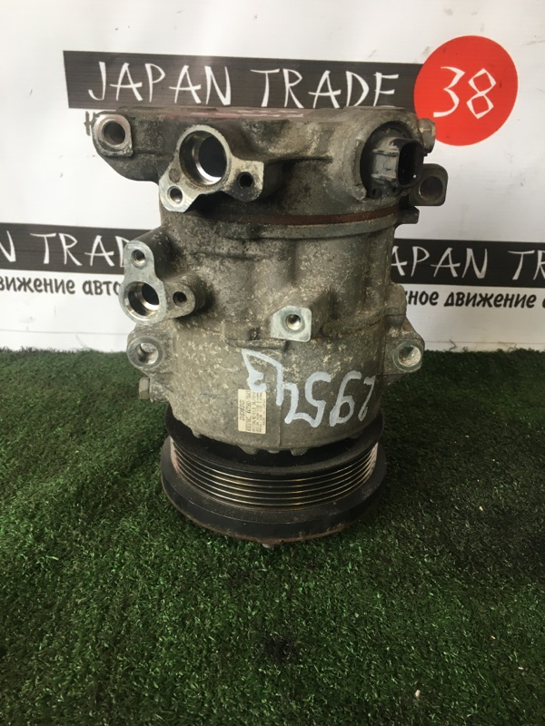 Компрессор кондиционера Toyota Voxy ZZR70 3ZR-FAE