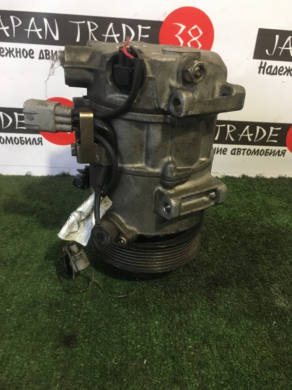 Компрессор кондиционера Toyota Crown GRX120 3GR-FSE