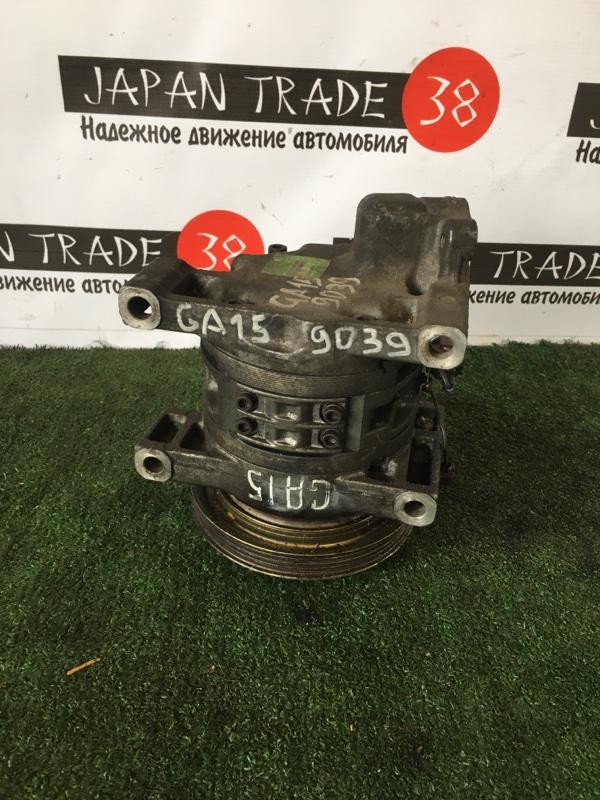 Компрессор кондиционера Nissan Presea R11 GA15DE