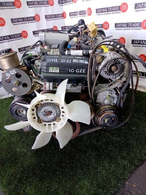 Двигатель Toyota Chaser GX81 1G-GZE 1990