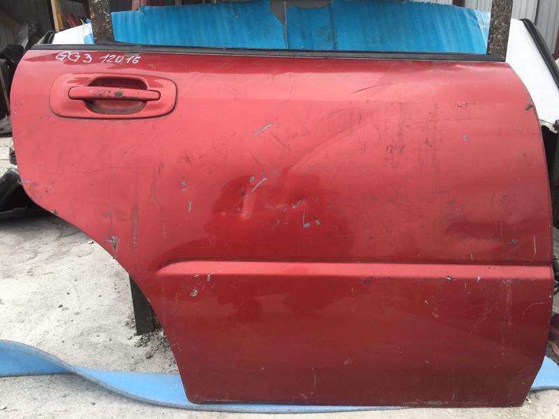 Дверь Subaru Impreza GG3 152 задняя правая