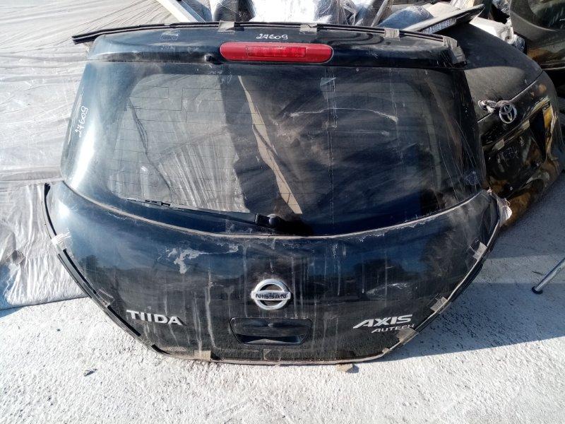 Дверь 5-я Nissan Tiida C11 HR15DE