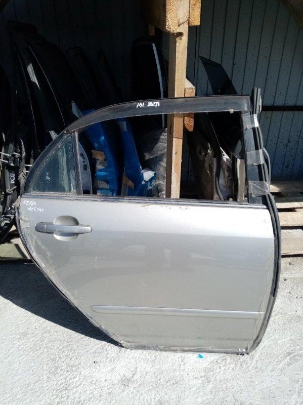 Дверь Toyota Corolla NZE121 задняя правая