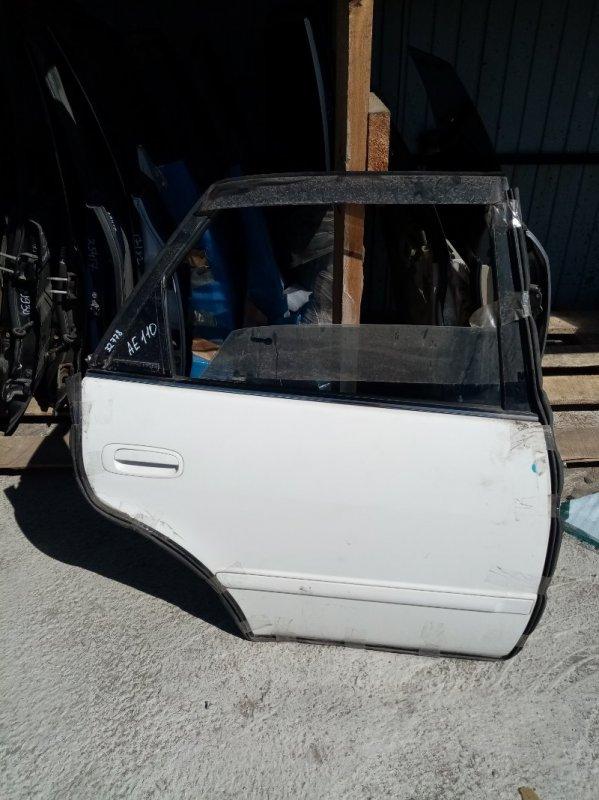Дверь Toyota Sprinter AE110 задняя правая