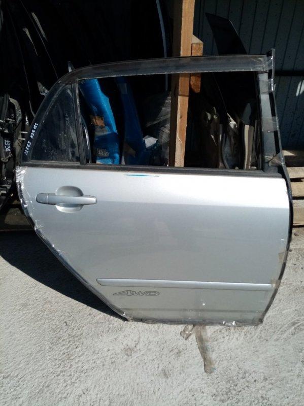 Дверь Toyota Fielder NZE141 задняя правая