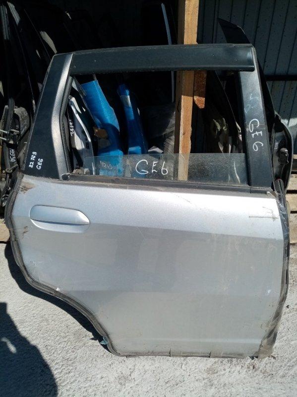 Дверь Honda Fit GE6 задняя правая