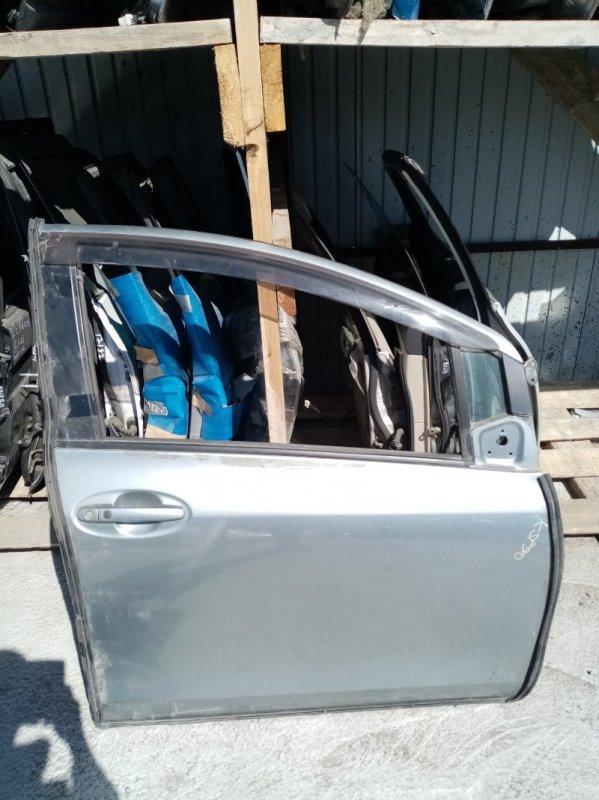 Дверь Toyota Vitz KSP90 передняя правая