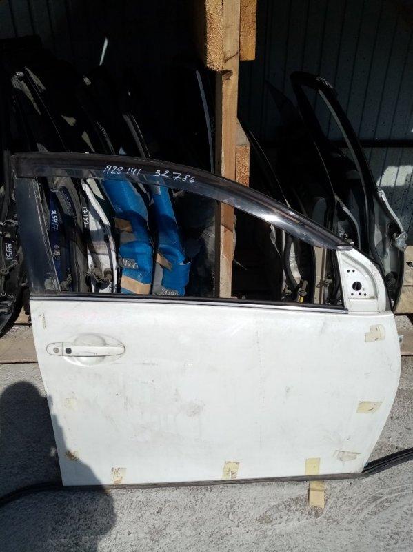 Дверь Toyota Corolla Fielder NZE141 передняя правая