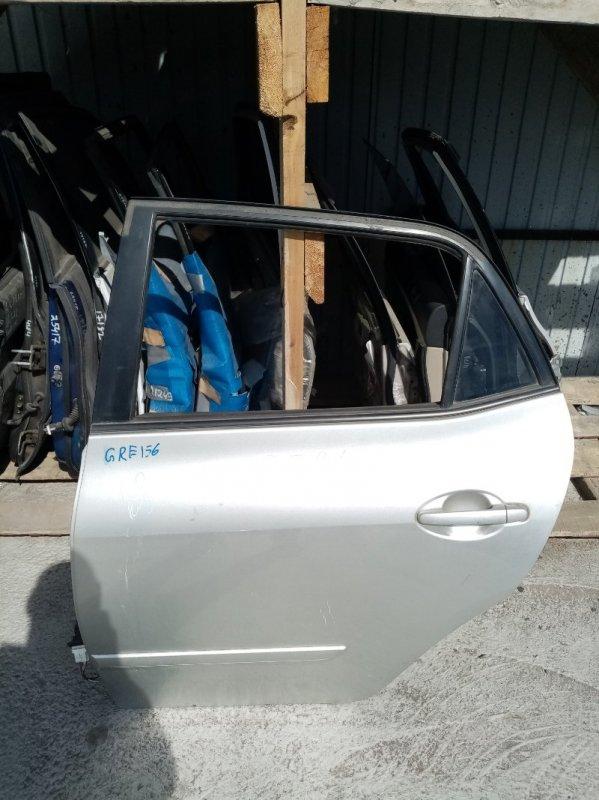 Дверь Toyota Blade GRE156 задняя левая