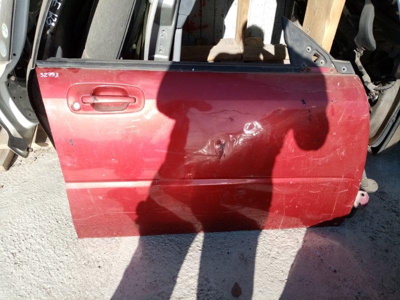Дверь Subaru Impreza GG3 передняя правая